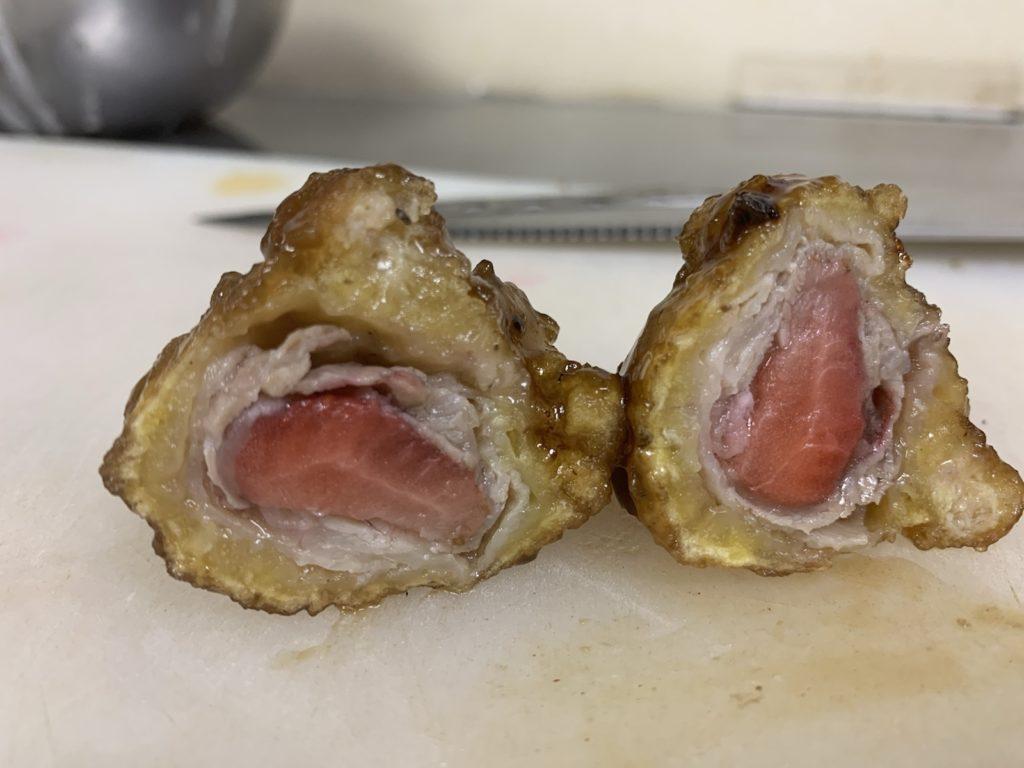ミルフィーユ酢豚 北海道