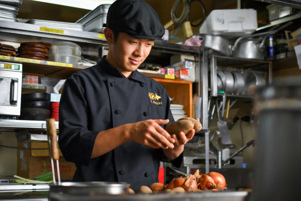 北海道農業販路開拓 料理人