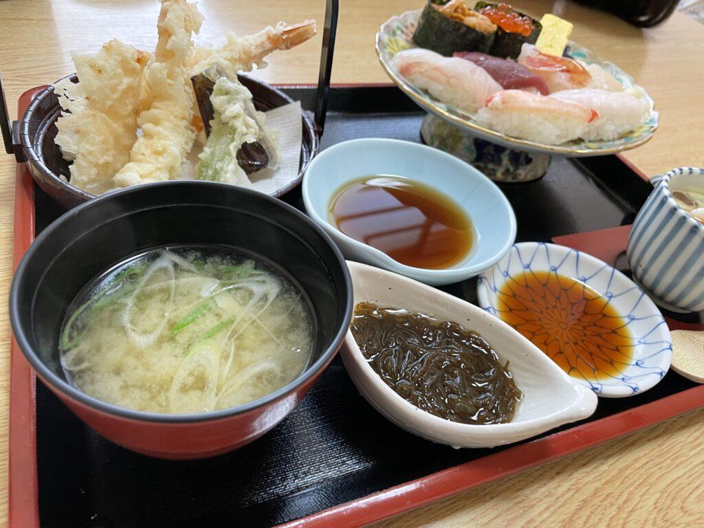 帯広のあら鮨さんの寿司御膳 特上